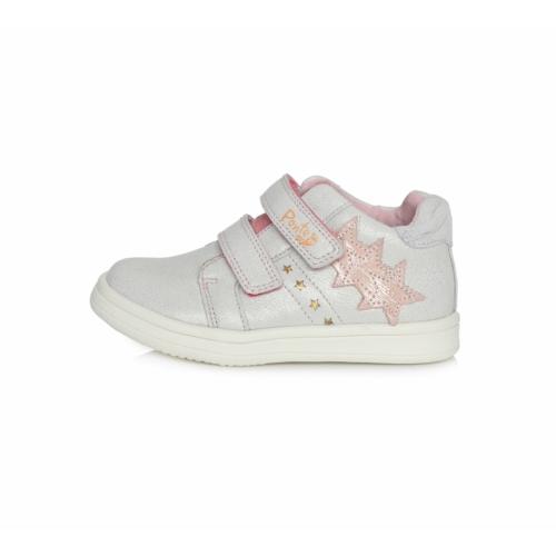 Ponte20 supinált átmeneti lány cipő, fehér-rózsaszín 1