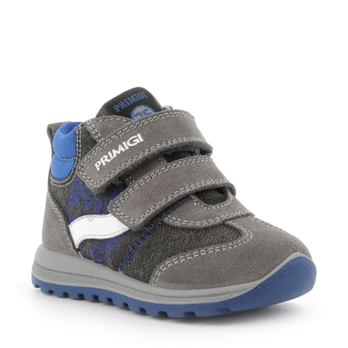 Primigi kisfiú bokacipő, szürke-kék 1