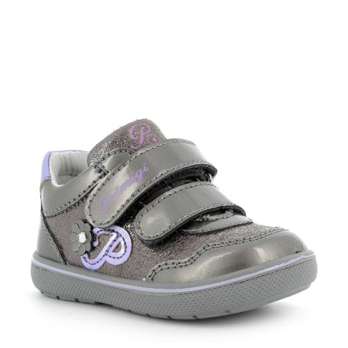 Primigi lány átmeneti cipő, fémszürke 1